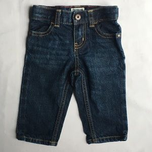 Boys jeans size 6 months pants bottom Osh Kosh